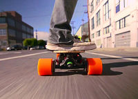 Skateboard    Listen to Sanjay Dastoor of Boosted Boards, a startup that is building the world's lightest electric vehicle. Watch the video or do the exercise.